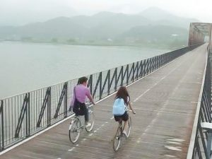 Korea | Seoul | 5 days cycling tour | 3 days riding 220 km | May-June
